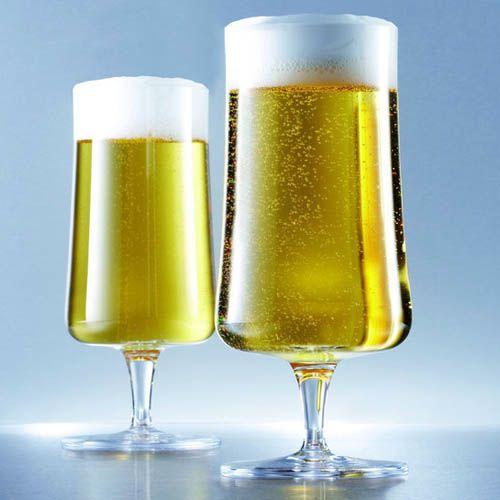 Набор бокалов Schott Zwiesel Beer Basic для пива 393 мл из ударопрочного хрустального стекла