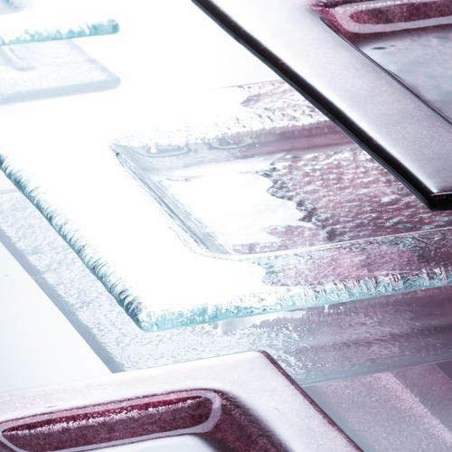 Тарелка Schott Zwiesel Soho прозрачная из прочного хрустального стекла квадратная 14 см