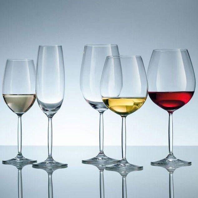 Большой бокал Schott Zwiesel Diva Living для красного вина 613 мл из ударопрочного стекла