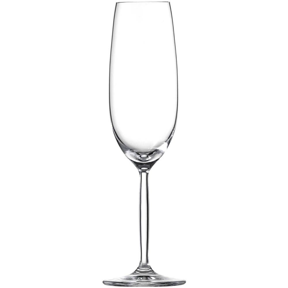 Высокий бокал Schott Zwiesel Diva Living для шампанского 219 мл из хрустального стекла