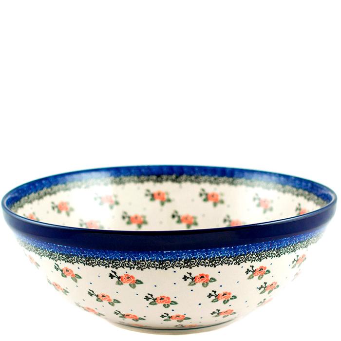 Салатник Ceramika Artystyczna Чайная роза большой