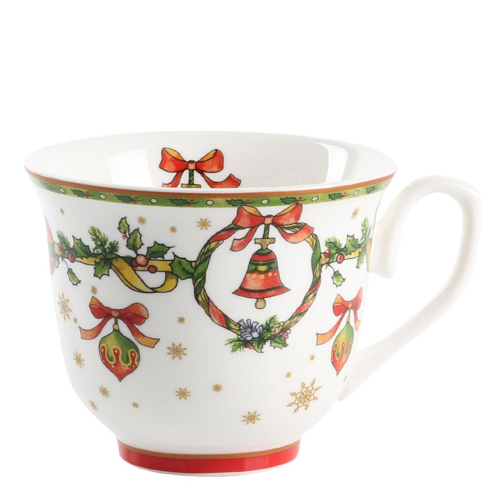 Набор чашек для чая на 2 персоны Palais Royal Рождественские колокольчики