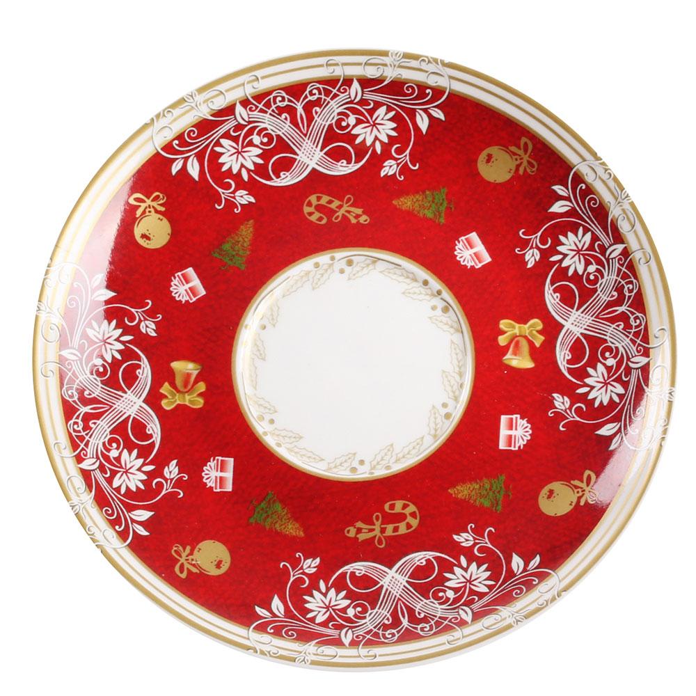 Набор керамических чашек для чая Palais Royal Вкус праздников на 2 персоны