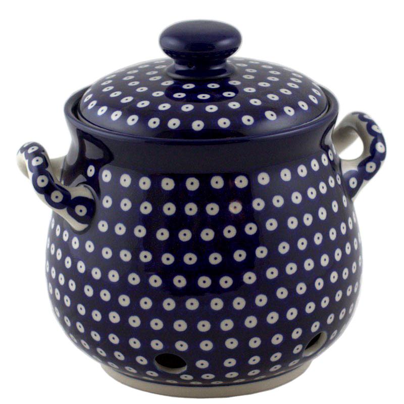 Горшок для лука Ceramika Artystyczna Волшебная синева
