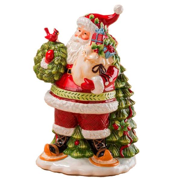 Бисквитник в форме Деда Мороза Palais Royal Заколдованный лес