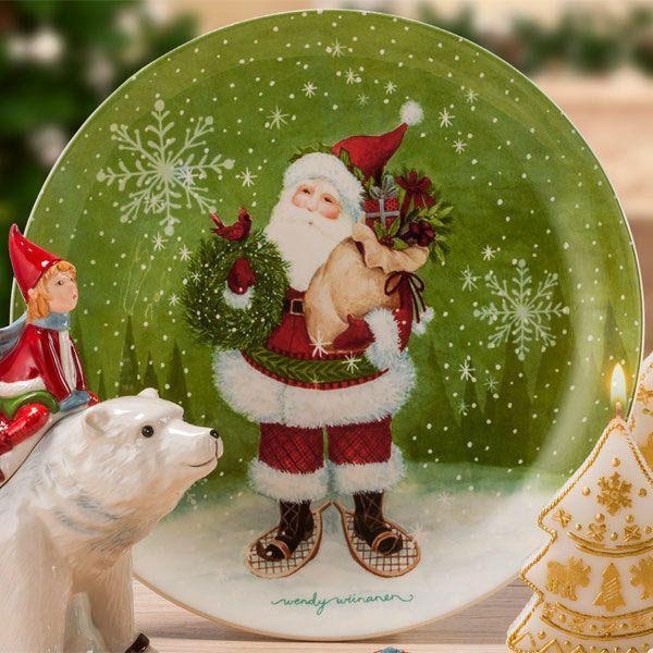 Новогоднее блюдо Palais Royal Заколдованный лес