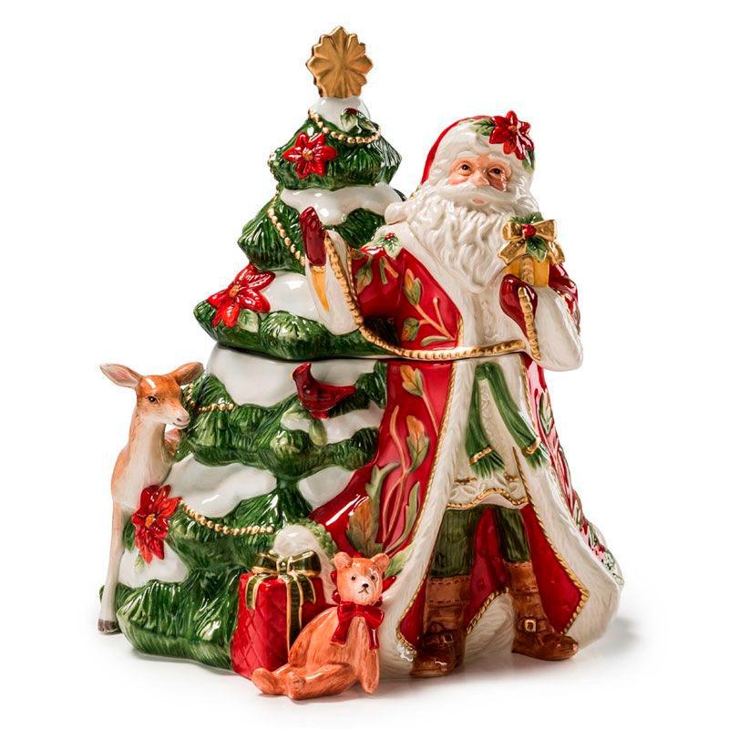 Бисквитник Fitz and Floyd Рождественские эмоции