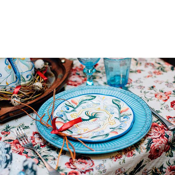 Тарелка обеденная Bizzirri Venezia Turch