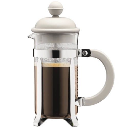 Кофейник Bodum Caffettiera френч-пресс белый 0.35 л
