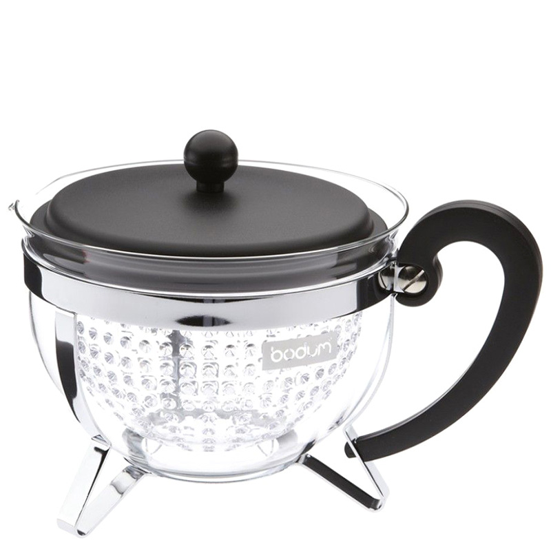 Прозрачный чайник Bodum Chambord 1л