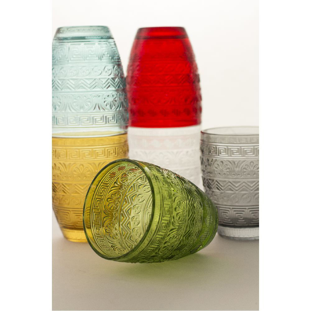 Разноцветный набор стаканов Villa D'este Mexico 6шт