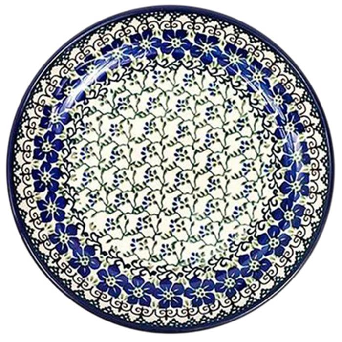 Тарелка Ceramika Artystyczna Фиалки большая