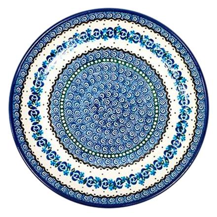 Тарелка Ceramika Artystyczna Озерная свежесть большая