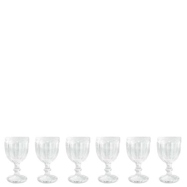 Набор из 6 бокалов Villa d'Este для воды