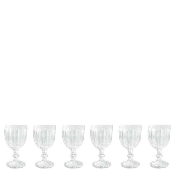 Набор из 6 бокалов Villa d'Este для вина