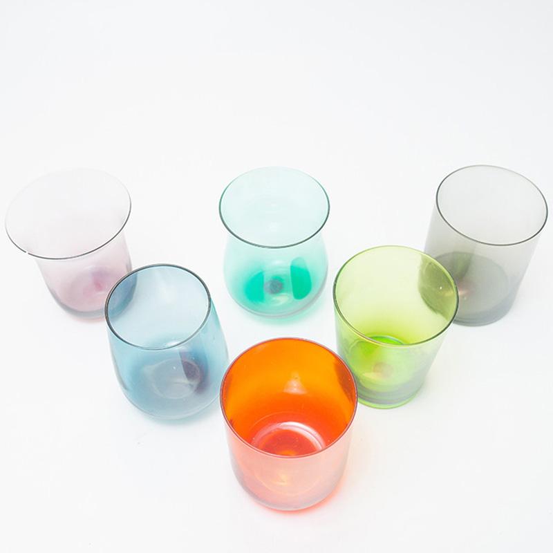 Набор стеклянных стаканов Villa D'este Cromia 6шт