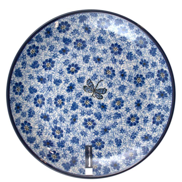 Тарелка обеденная Ceramika Artystyczna Стрекоза