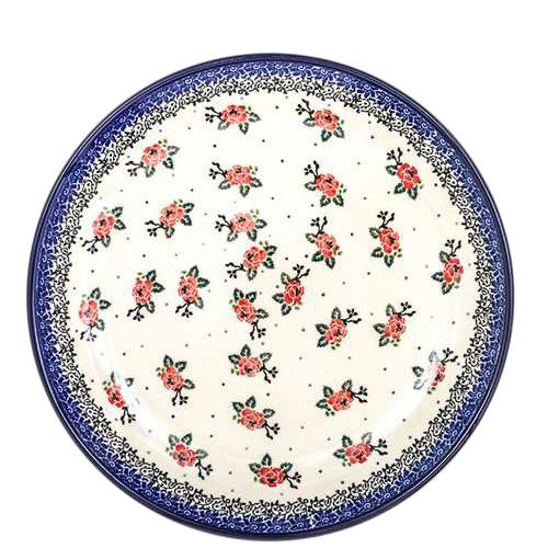Набор тарелок Ceramika Artystyczna Чайная роза