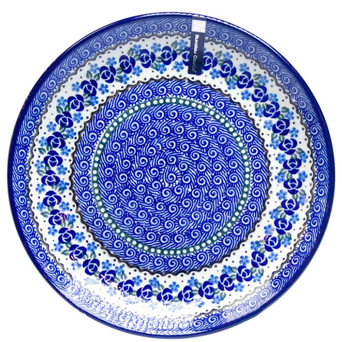 Тарелка обеденная Ceramika Artystyczna Озерная свежесть