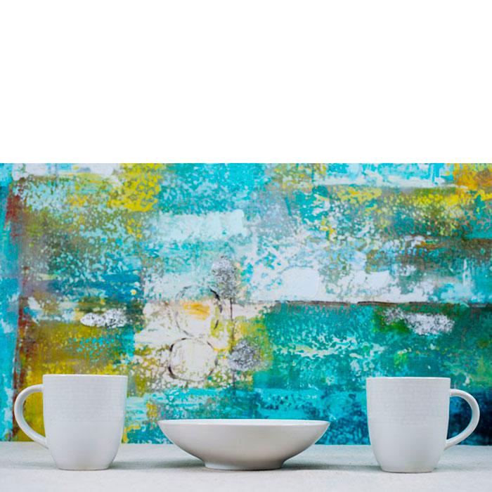 Набор чашек на 6 персон Bastide белого цвета с текстурной поверхностью