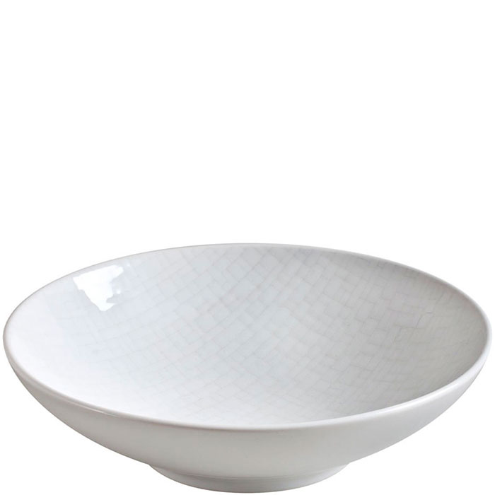Набор тарелок для супа Bastide Cotton белого цвета