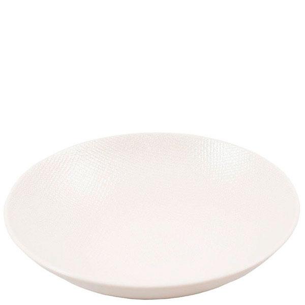 Набор белых тарелок для супа Bastide Vesuvio