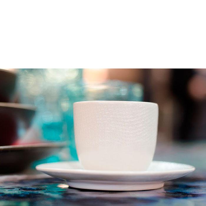 Набор чашек с блюдцем для кофе Bastide Vesuvio