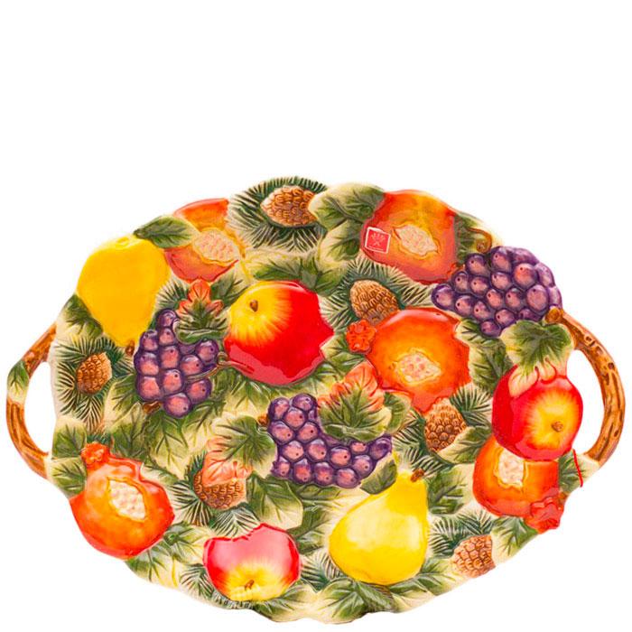 Яркая керамическая фруктовница Palais Royal