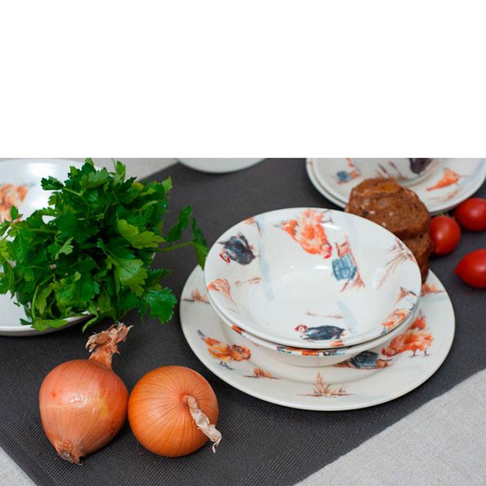 Набор тарелок Bastide Campagne