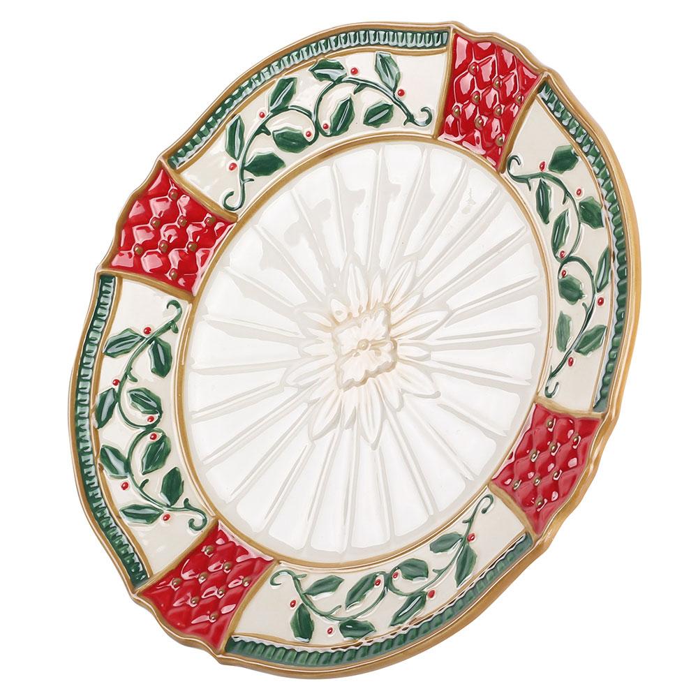 Тарелка Palais Royal Рождественский венок 22см