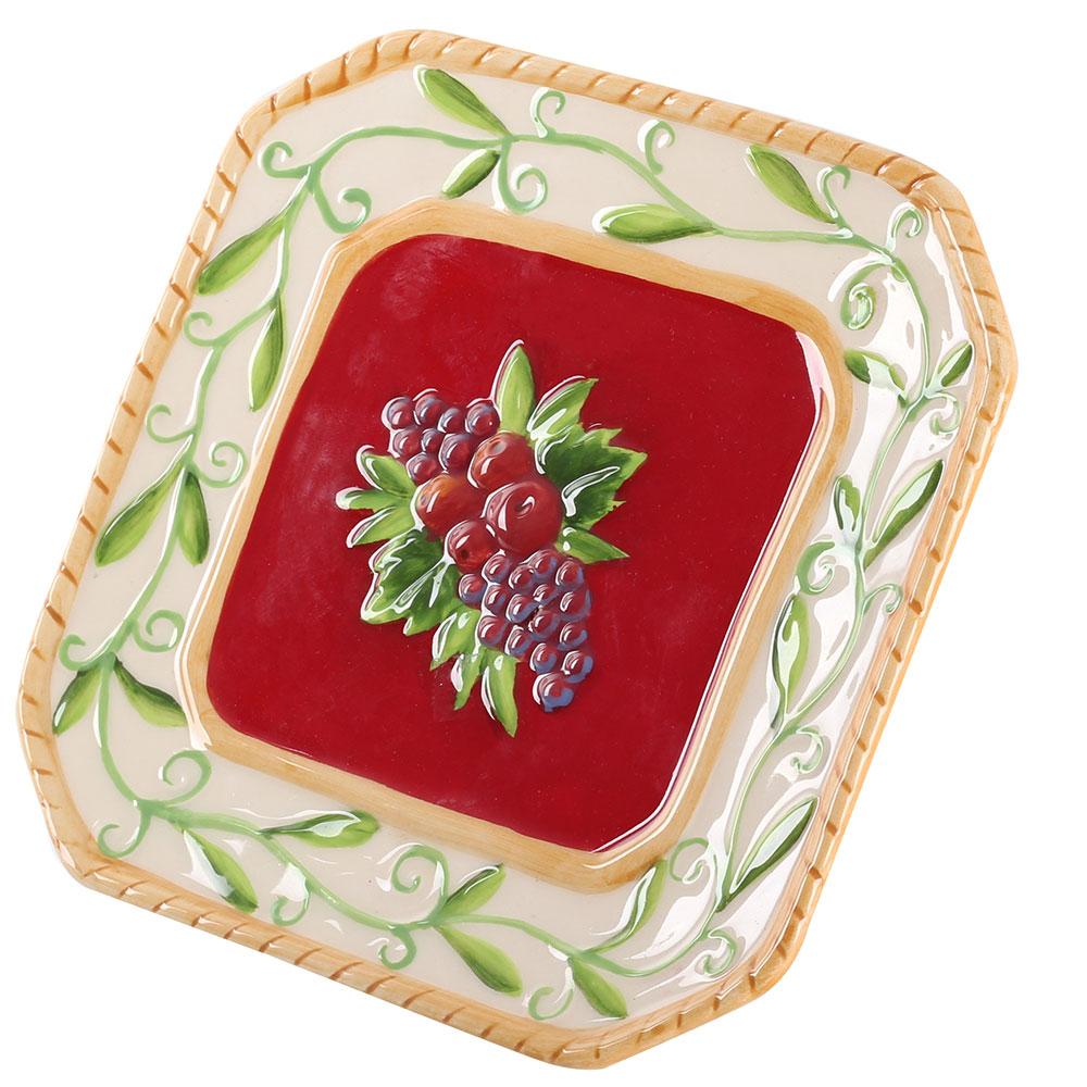 Тарелка для сыра Palais Royal Зимняя ягода