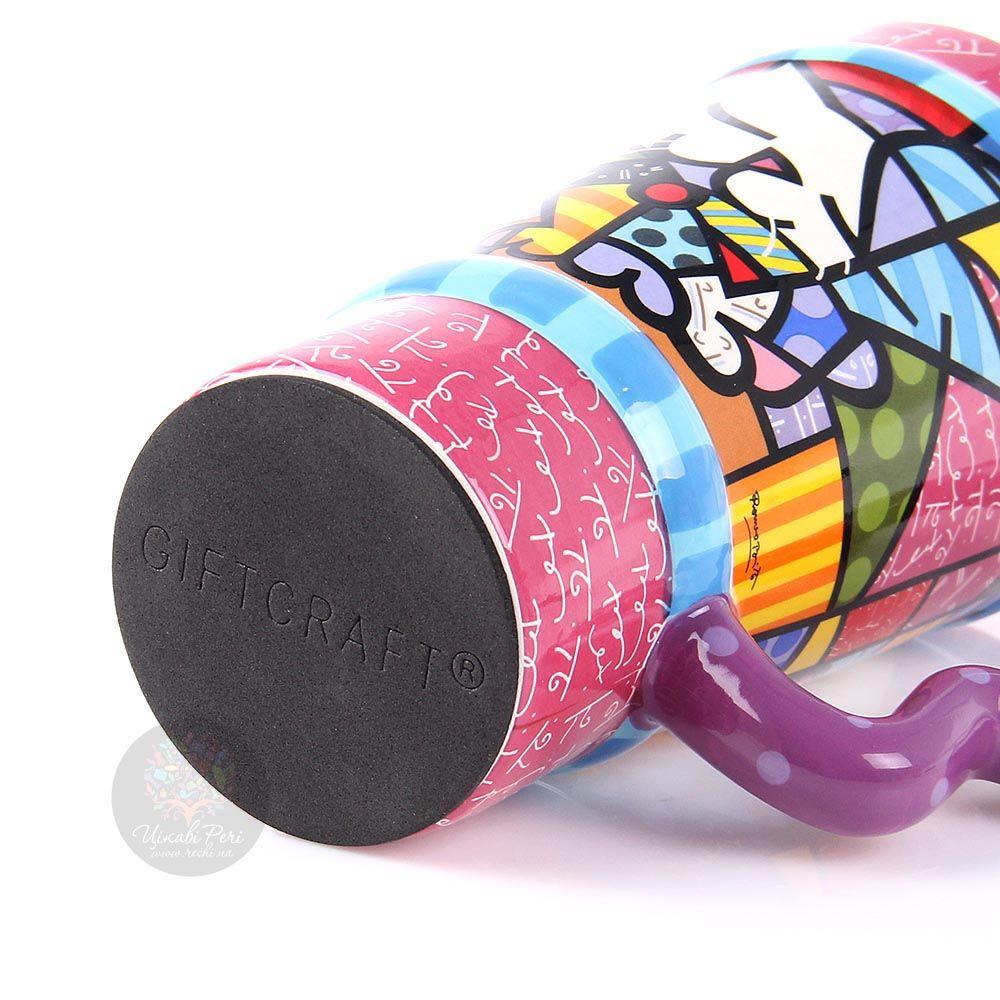 Дорожная чашка Parastone дизайна Romero Britto объемом 350 мл