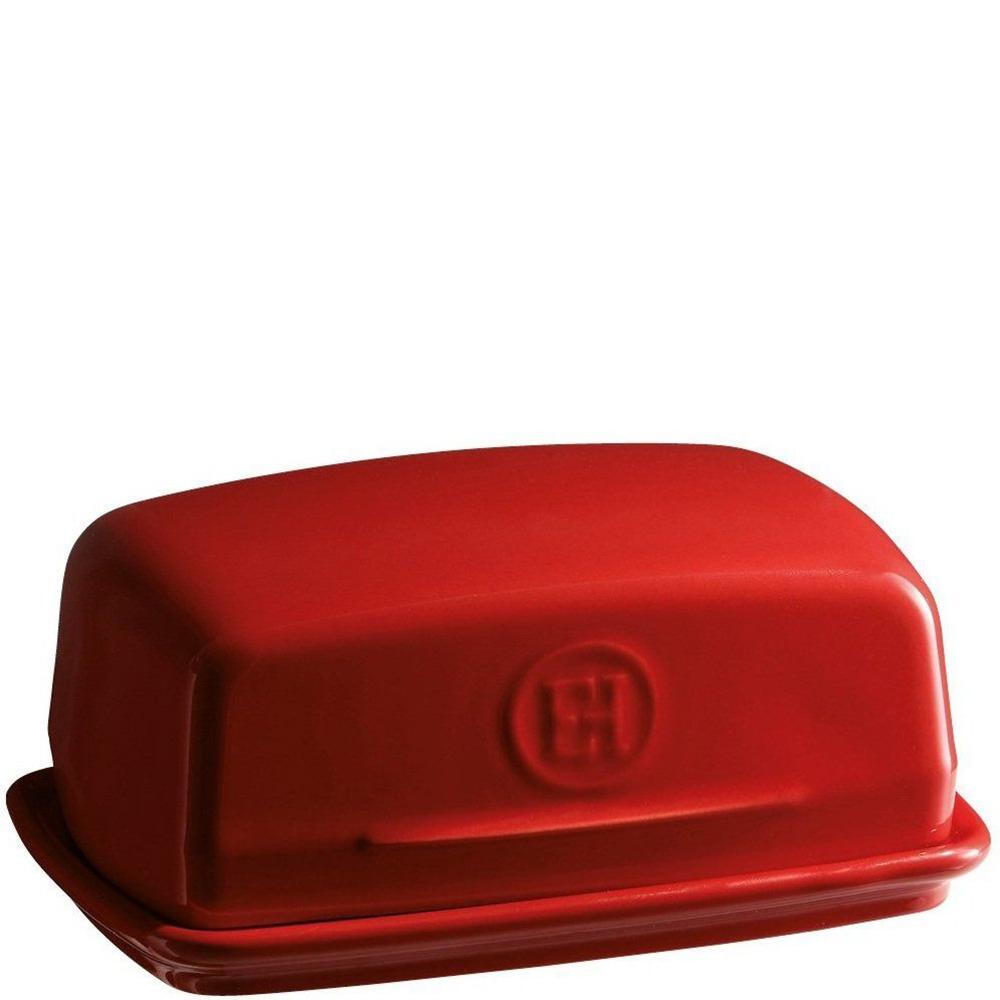 Масленка Emile Henry Kitchen Tools красного цвета