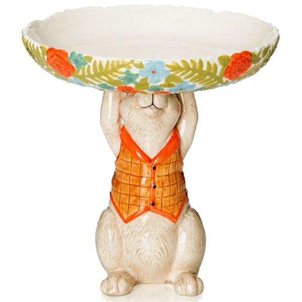 Фруктовница из керамики Palais Royal Кролик