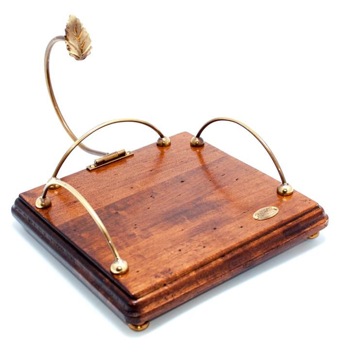 Деревянная салфетница Capanni Классика с фиксатором