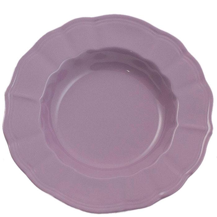 Набор из 6 глубоких тарелок Comtesse Milano Loto фиолетового цвета