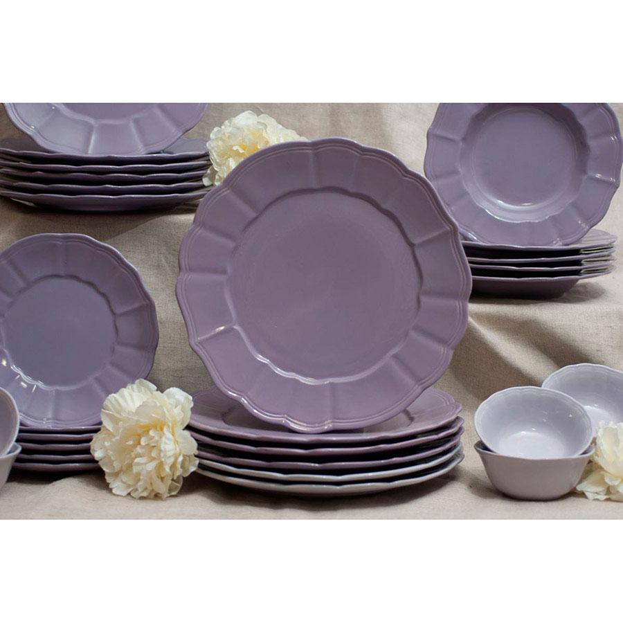 Блюдо Comtesse Milano Loto фиолетового цвета