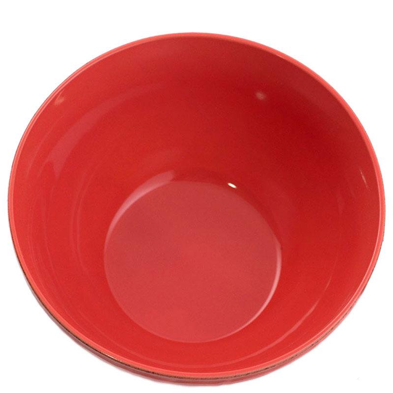 Салатник Comtesse Milano Dalia красного цвета