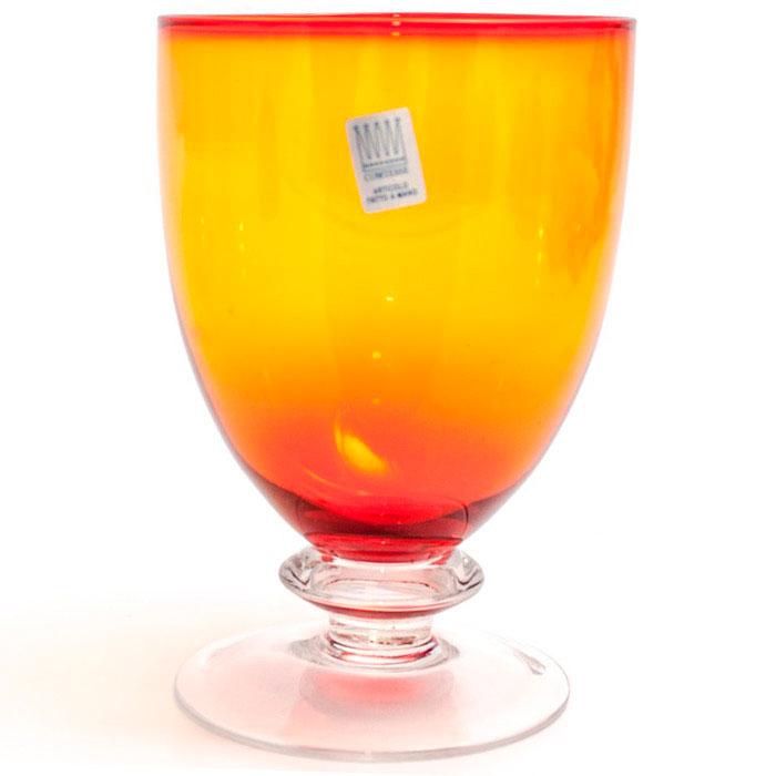 Набор бокалов для воды Comtesse Milano Tahiti оранжевого цвета