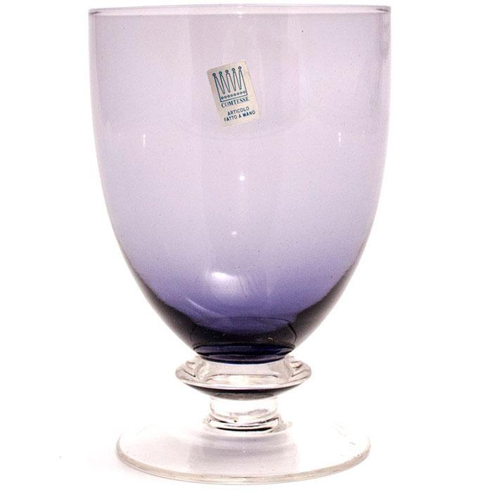 Бокал для воды Comtesse Milano Tahiti фиолетового цвета