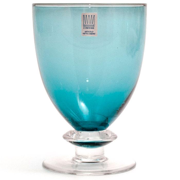 Набор бокалов для вина Comtesse Milano Tahiti изумрудного цвета