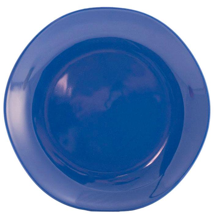 Обеденная тарелка Comtesse Milano Ritmo синего цвета
