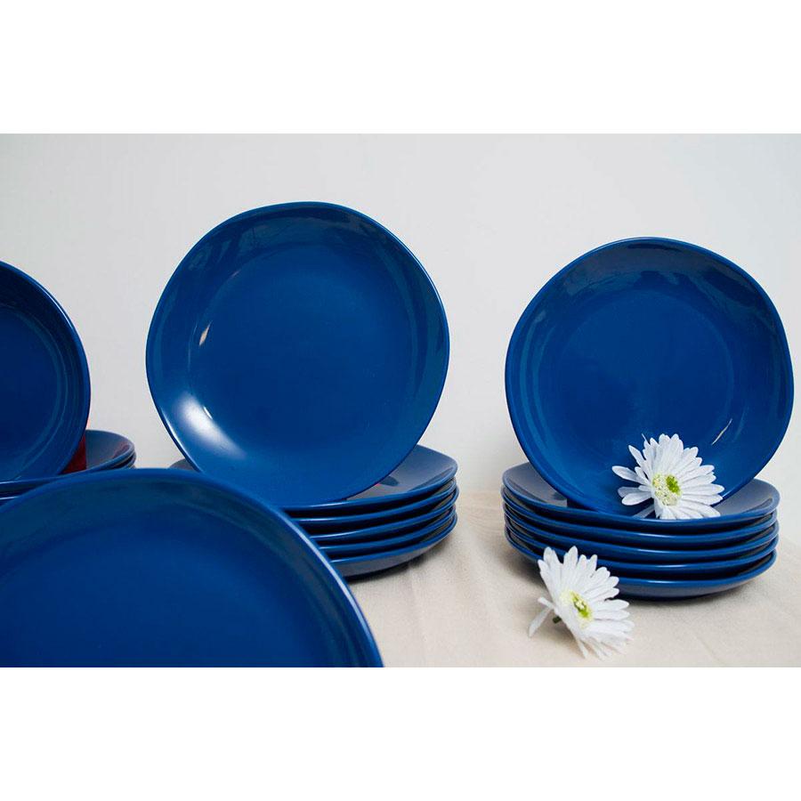 Десертные тарелки Comtesse Milano Ritmo синего цвета 6шт