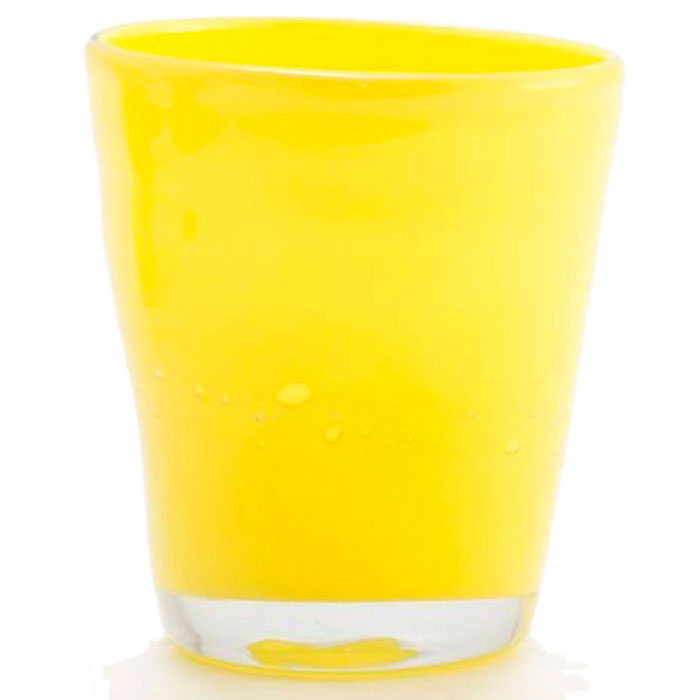 Набор из 6 стаканов Comtesse Milano Samoa желтого цвета