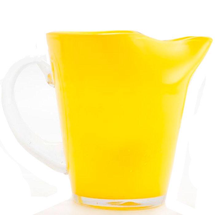 Стеклянный кувшин Comtesse Milano Samoa желтого цвета