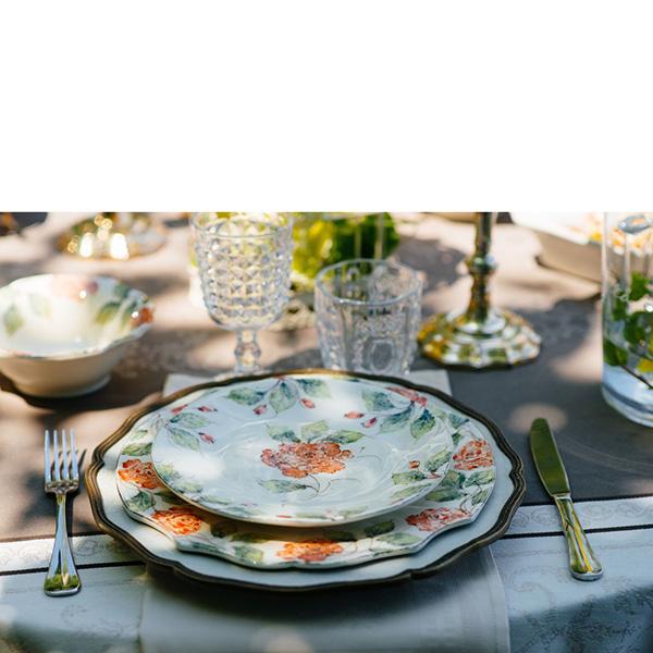Тарелка для салата Bizzirri Розы