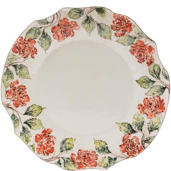 Тарелка обеденная Bizzirri Розы