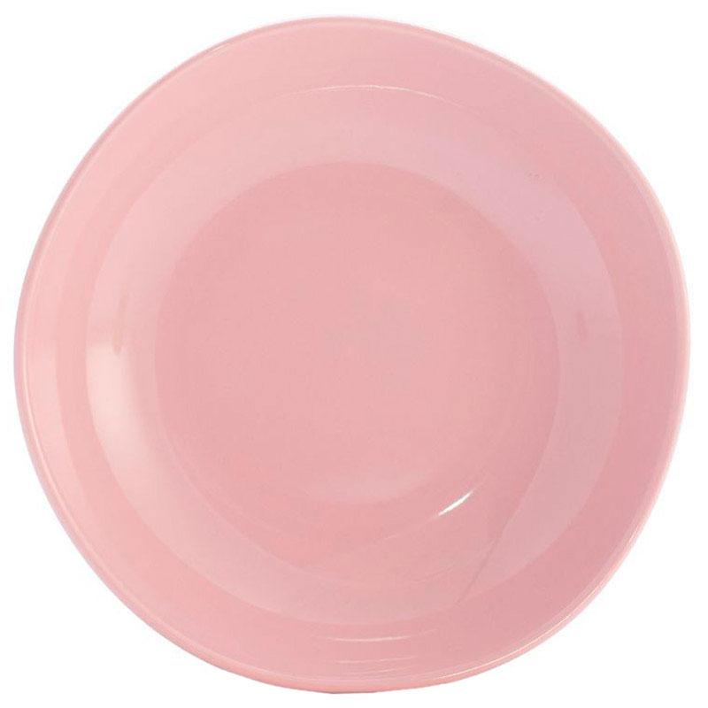 Набор тарелок для супа Comtesse Milano Ritmo из розовой керамики на 6 персон