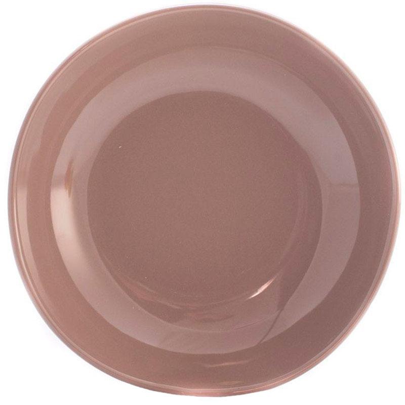 Тарелки для супа Comtesse Milano Ritmo коричнево-серого цвета 6шт