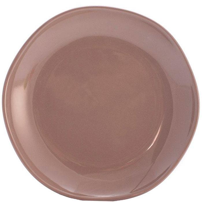 Десертные тарелки Comtesse Milano Ritmo коричнево-серого цвета 6шт